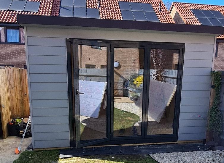 Composite Bespoke 4x4m Garden Room