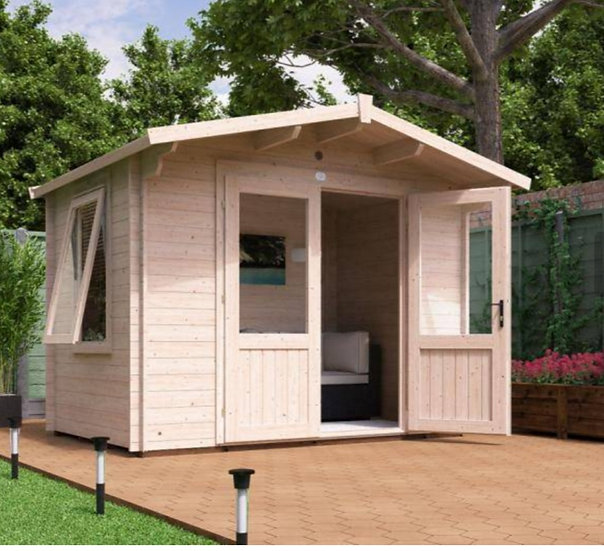 Avon log cabin 3m by 2m - with assembly