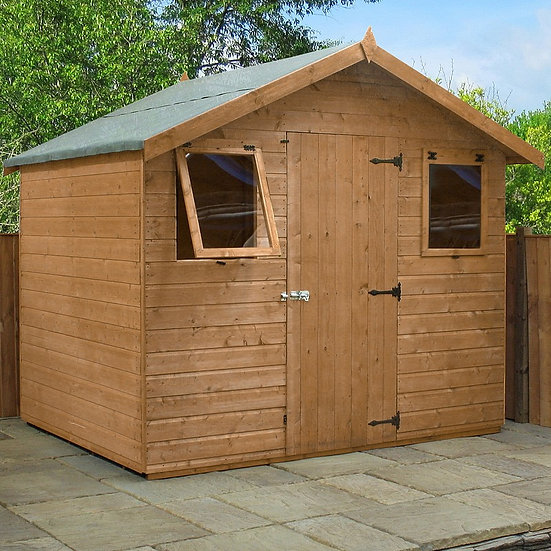 6x8ft Tongue and Groove shed