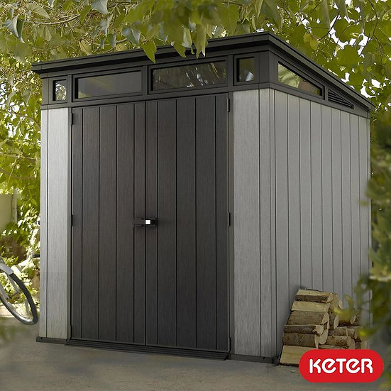 Keter artisan 7x7 plastic shed