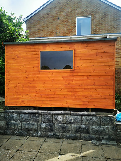 Forever Forest Bespoke pent and apex sheds