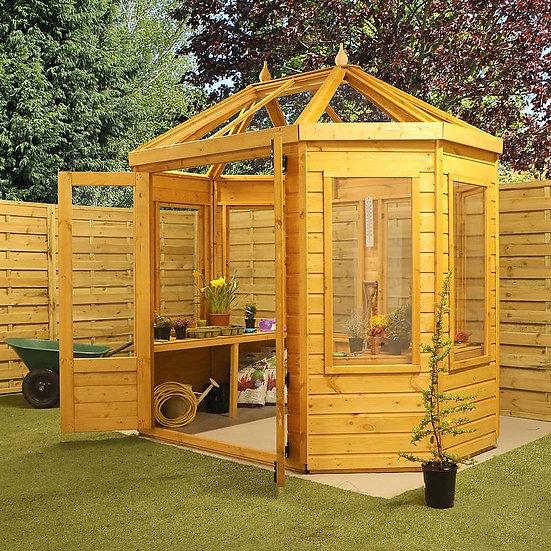 8x6 octagonal greenhouse