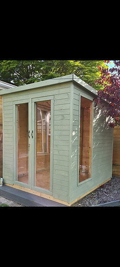 Pent Roof Summerhouse1.8m by 1.8m