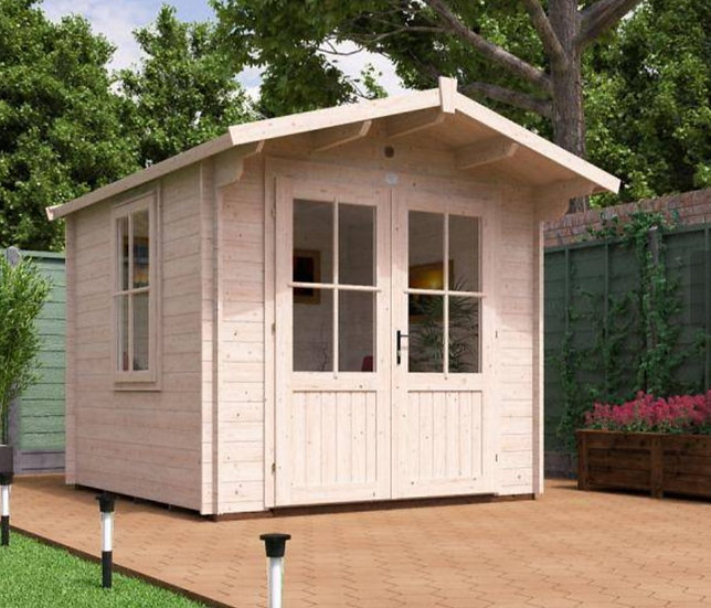 Avon log cabin 2.5m by 2.5m - with assembly