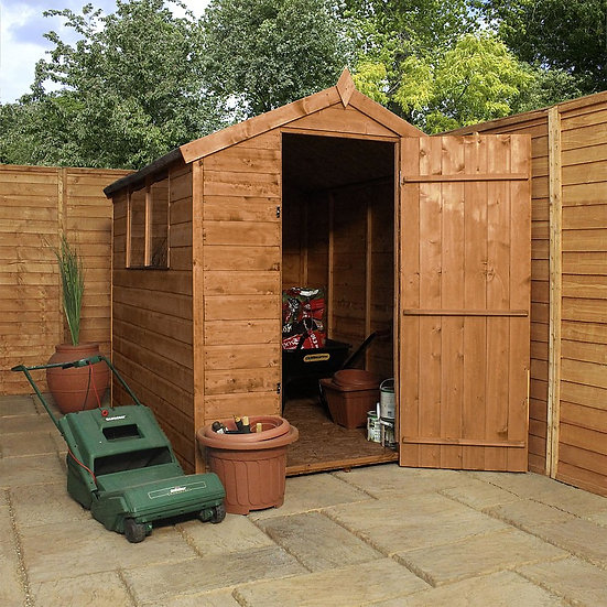 7x5ft tongue and groove shed.