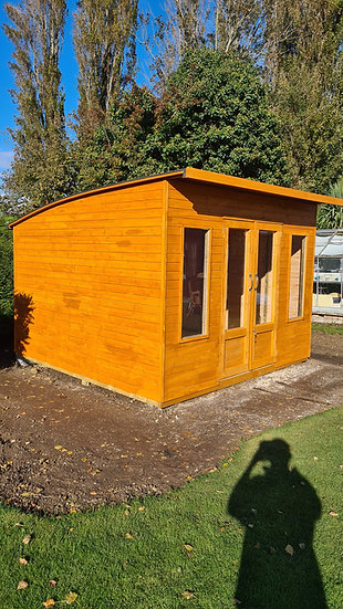 Curved Roof Summerhouse 3m by 2.4m