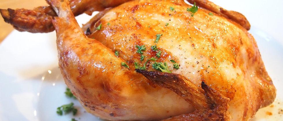 お取り寄せディナーセット ひな鶏のロティ