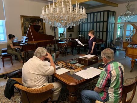 Opnames Schubertliederen in juni 2019