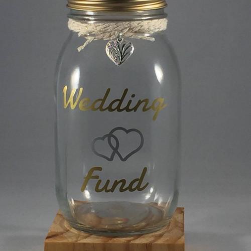 Wedding Fund Money Jar