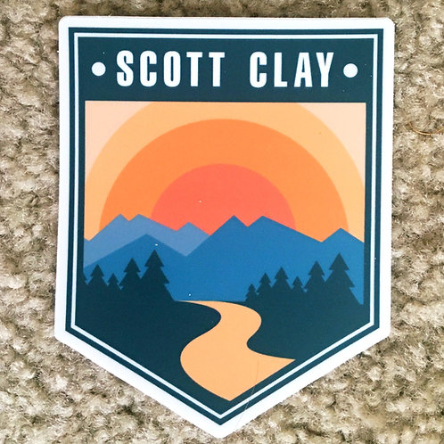 "4"" Diecut Sticker - Badge Logo"