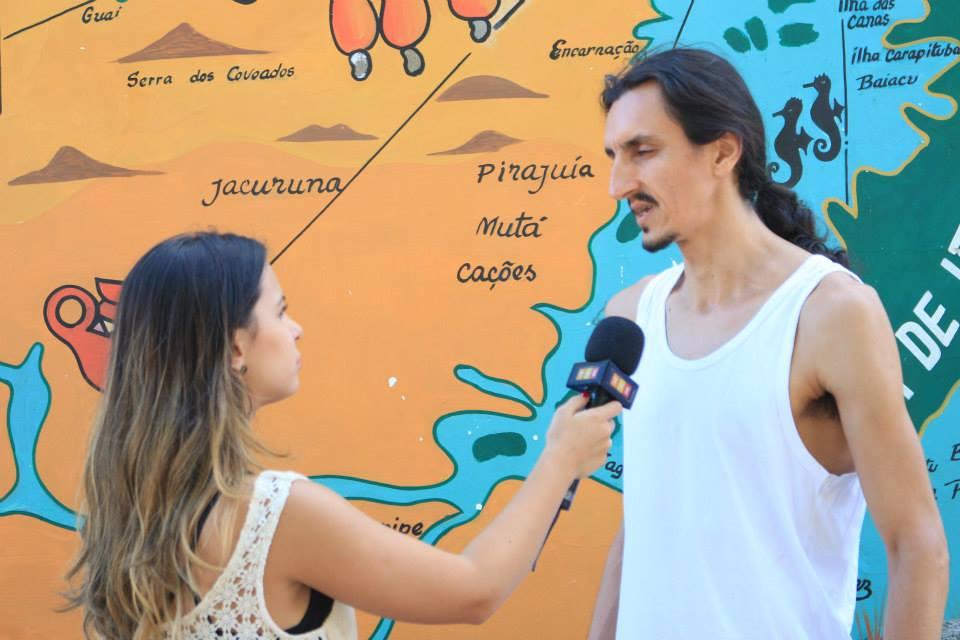 Entrevista com a TVE