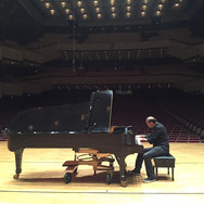 Soundcheck at Taiwan's National Theater