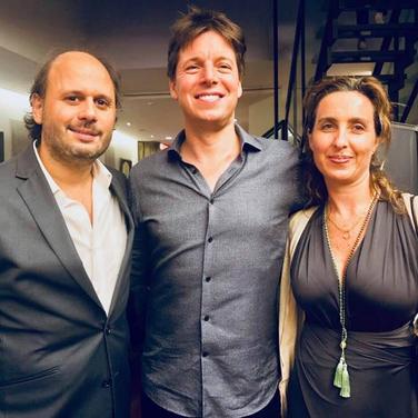 Vicky Barranguet, Joshua Bell and Gustavo Casenave