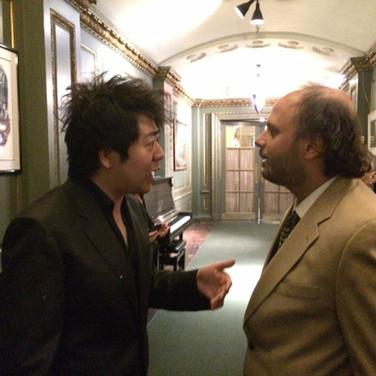 Casenave and Lang Lang at Steinway Hall