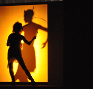"Vicky Barranguet performing with ""Painting Tango"" at Skirball Center NYU"
