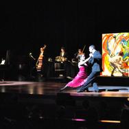 Painting Tango at Skirball center NYC 2010