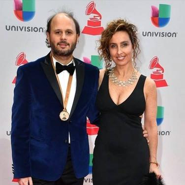 Vicky Barranguet & Gustavo Casenave at Latin Grammys 2017