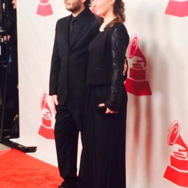 Vicky Barranguet & Gustavo Casenave at Latin Grammys 2014