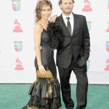 Vicky Barranguet & Gustavo Casenave at Latin Grammys 2012