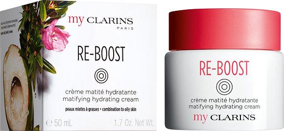 MyClarins Re-Boost Matifying Hydrating Cream 50mls