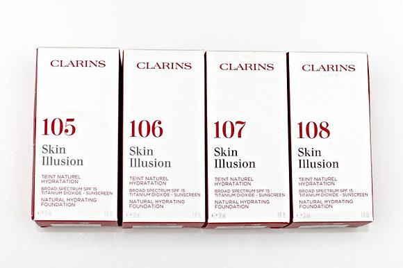 Clarins Skin Illusion SPF 15 Foundation Range