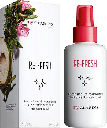 MyClarins Re-Fresh Hydrating Beauty Mist 100mls