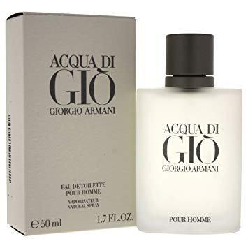 Armani Aqua Di Gio Pour Homme EDT 50mls