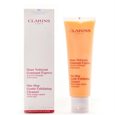 Clarins One-Step Gentle Exfoliating Cleanser All Skin Types