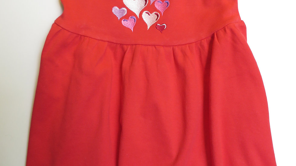 Red Valentine Heart dress
