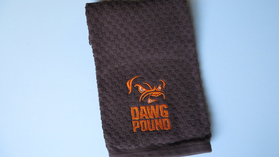 Cleveland Browns Hand Towel- Dawg Pound