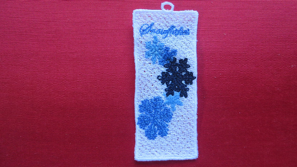 Lace Snowflake Bookmark