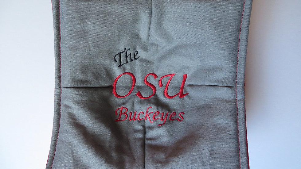 Microwave Potholder- Gray OSU Buckeyes