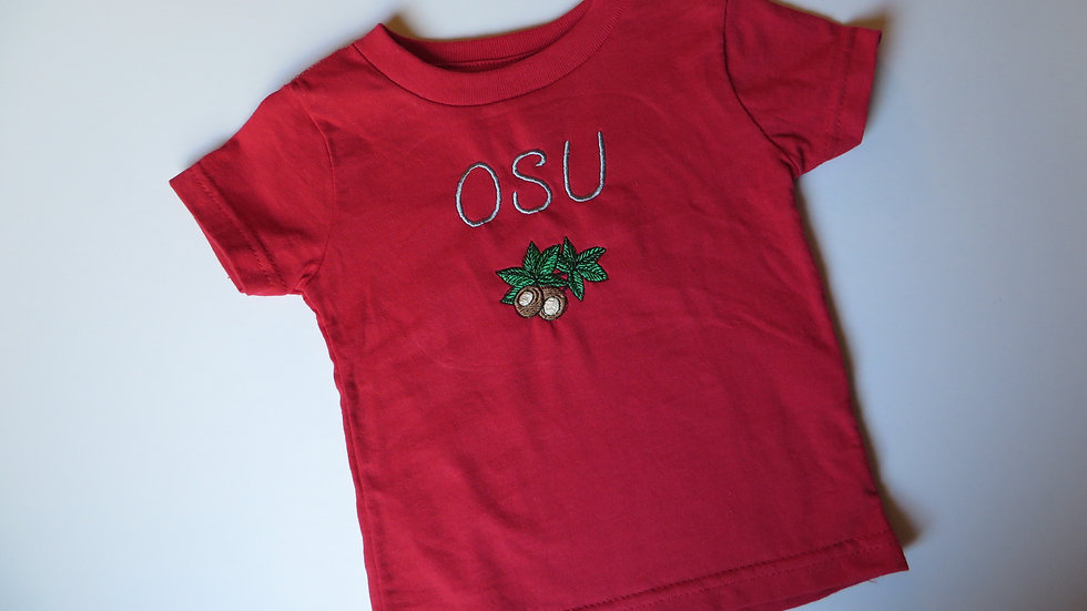 Red OSU T-shirt- size 3T