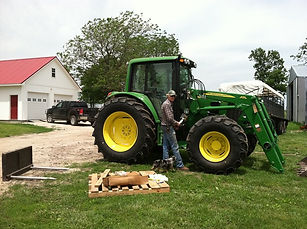 wrenching on a john deere