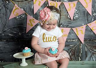 baby girl second birthday