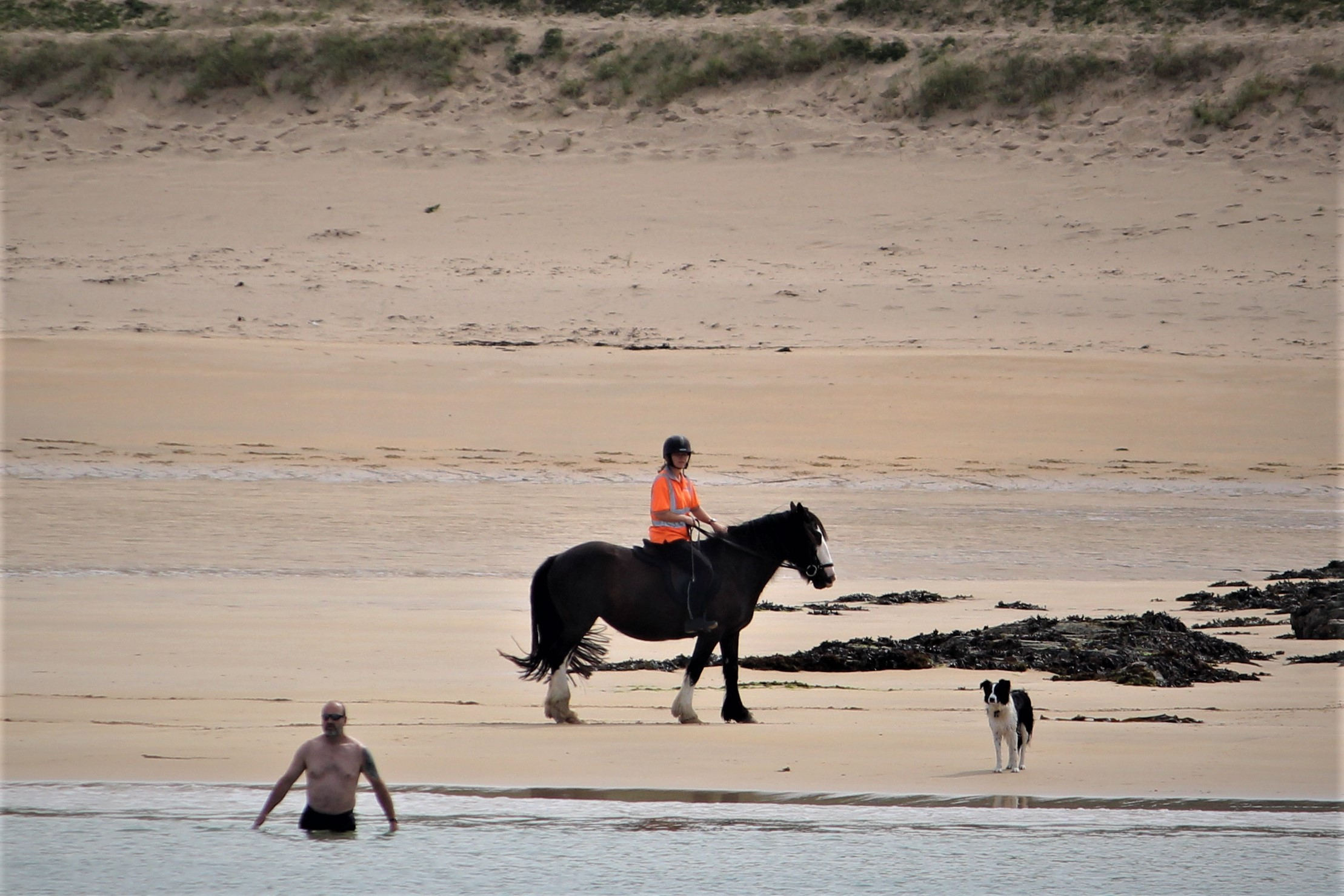 Rider on Kiloron Bay