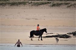 Rider on Kiloron Bay