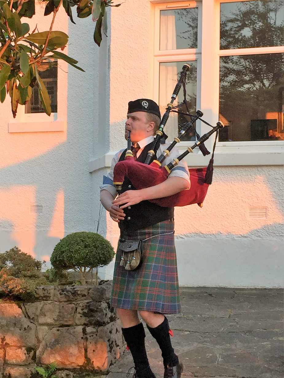 Appin Vs Benderloch on the world Piping Stage