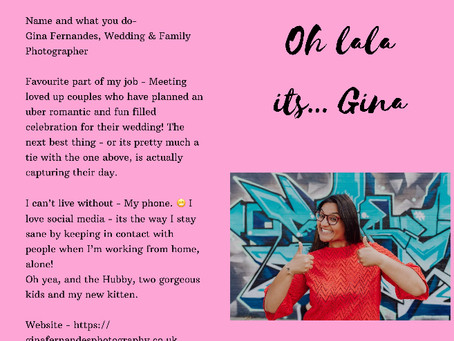 Oh LaLa, Its Gina