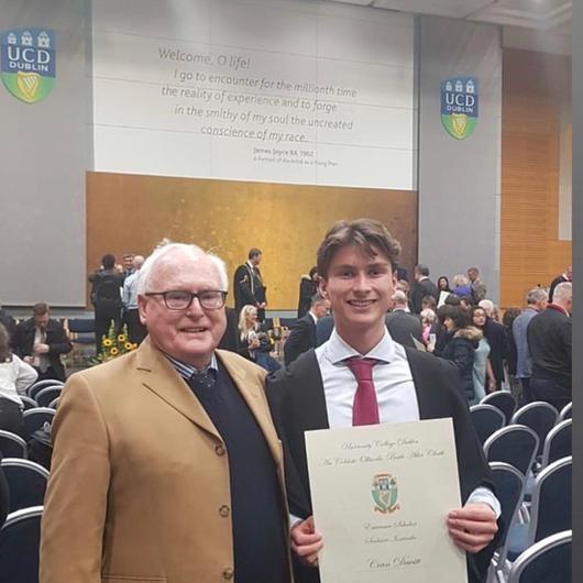 UCD Entrance Scholar