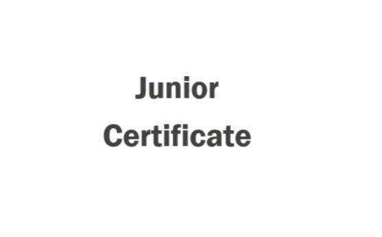 Return to School- Junior Cert no. 2