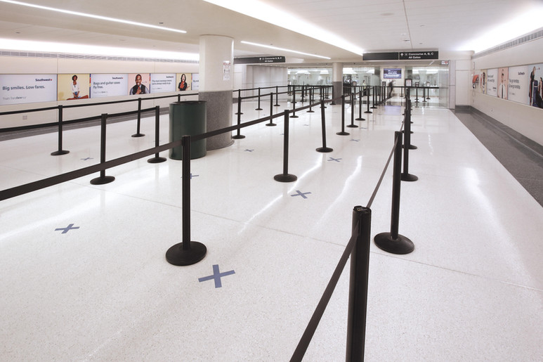 MDW Security Checkpoint