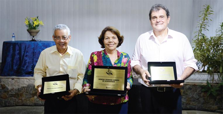 Américo Carvalho, Maria José Sombra e Marco Capute
