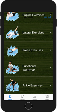 IOS soccer workouts app