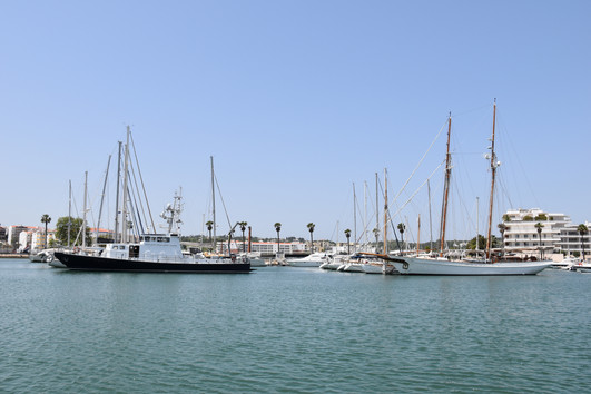Lagos Marina pontoons E and F