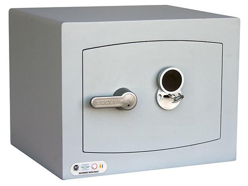 Securikey Mini Vault Silver S2 (Vault 1 - Key Lock)