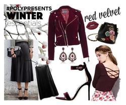 winter essentials red velvet post