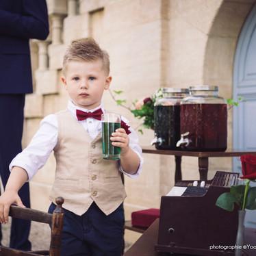 Wedding theme Adams Family -  mariage original