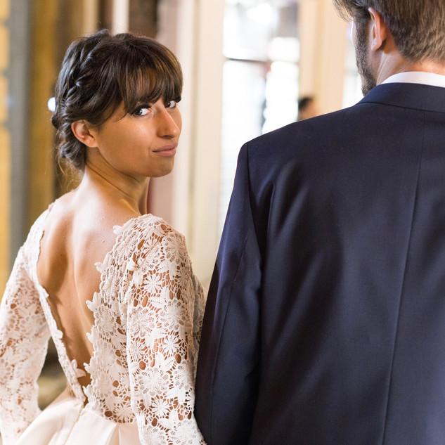 Mariage romantique et original dans le sud de la France.
