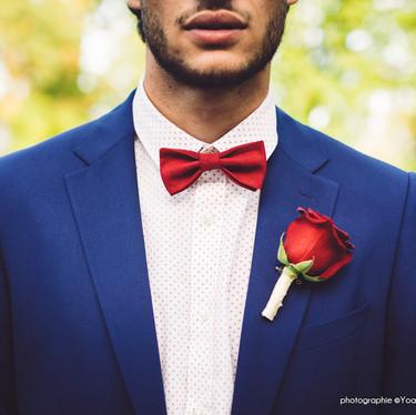 Wedding theme Adams Family -  costume pour mariage original